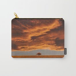 Paysage orange Carry-All Pouch