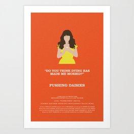 Pushing Daisies - Chuck Art Print