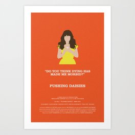 Pushing Daisies - Chuck Art Print