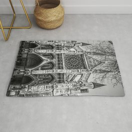 Westminster Black and White Rug