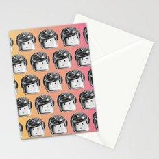 Minifigure Pattern - Hot Stationery Cards