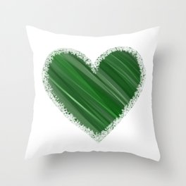 Earthy Love Throw Pillow