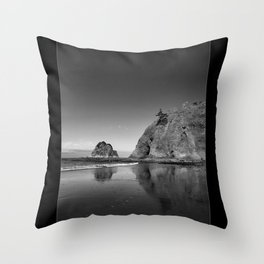 End Of The Walk Throw Pillow