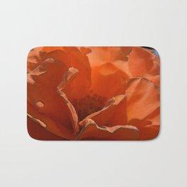 Chincoteague Orange Bath Mat