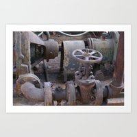 factory 2 Art Print