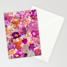 Peonies Tulips & Roses Stationery Cards