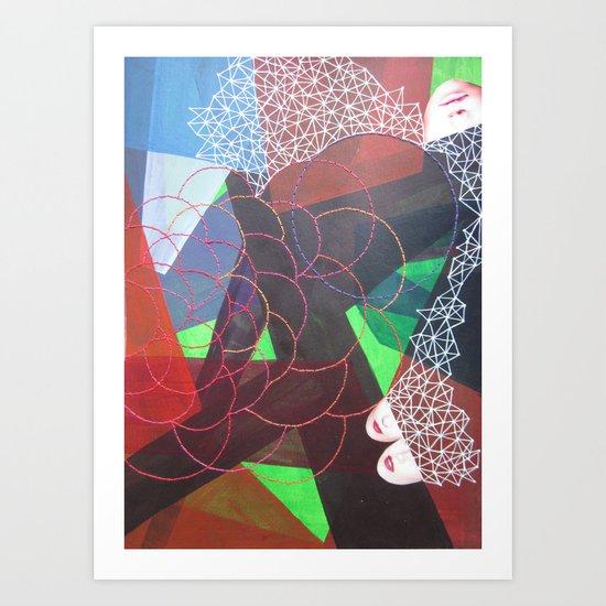 Collage#5 Art Print