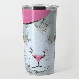 BERET CAT Travel Mug