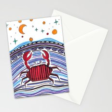 Crabby Crab Stationery Cards