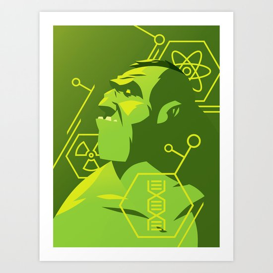A Hulk Art Print