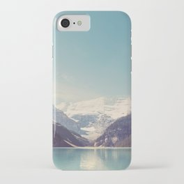 Lake Louise - Mountain Landscape, Nature Photography iPhone Case