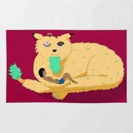 Geezer Cat Rug