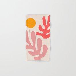 Henri Matisse - Leaves - Blush Hand & Bath Towel
