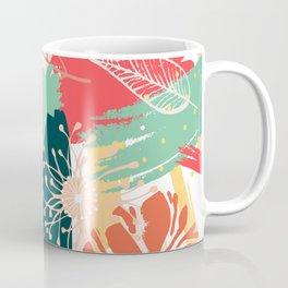 Spring Time, Botanical Floral Abstract Coffee Mug
