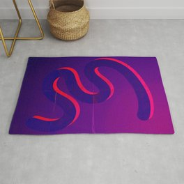 Wave of Thoughts Rug