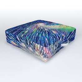 Into the Void Outdoor Floor Cushion