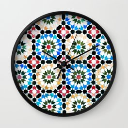 Oriental pattern Wall Clock