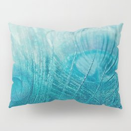 Believe in Aqua Pillow Sham