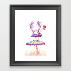 In The Land Of Magic Mushrooms Framed Art Print