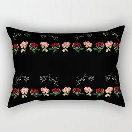 Armenian Rose Rectangular Pillow
