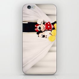 Mickey and Minnie Mouse iPhone Skin