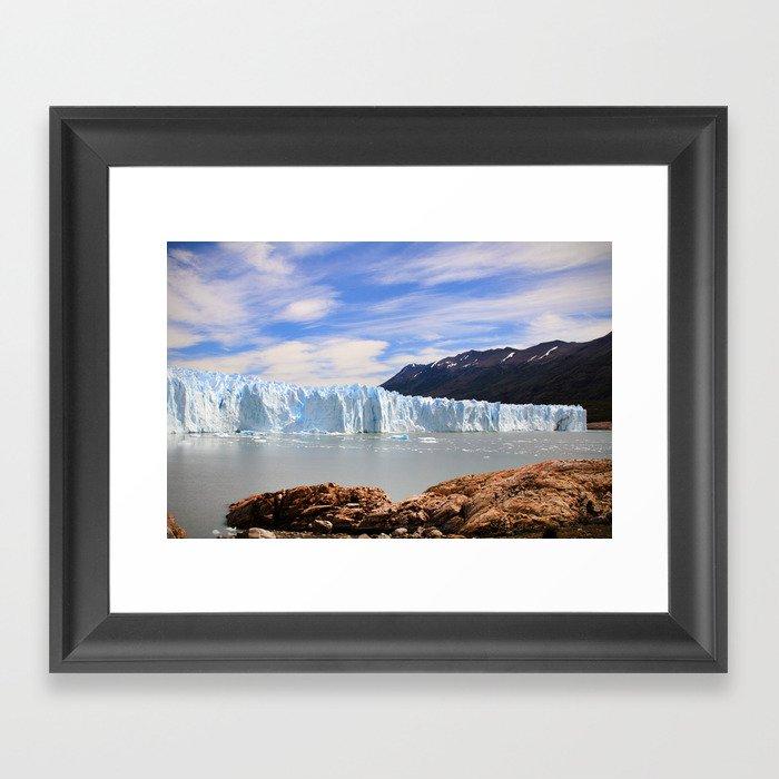 Perito Moreno Glacier Framed Art Print