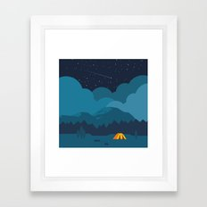 On The night Like This Framed Art Print