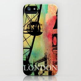 London Icons iPhone Case