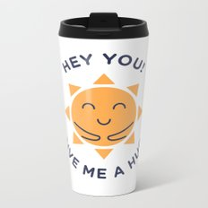 Summer, How Cute Are You! Metal Travel Mug