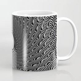 Black and White Optical Illusion - Eyeball this! Coffee Mug