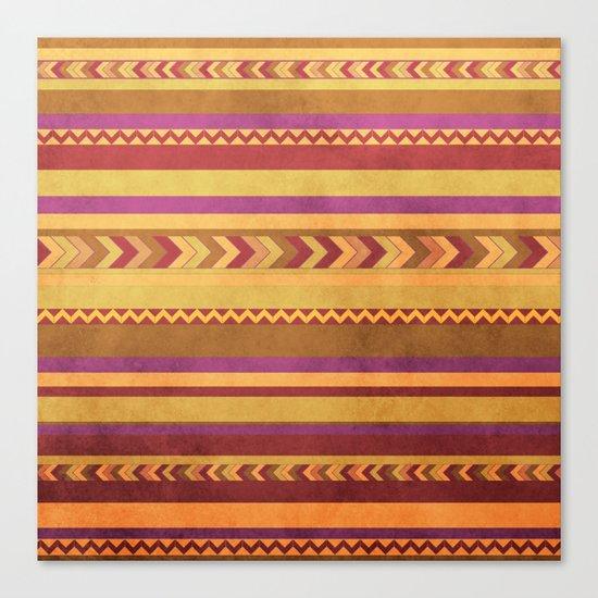 aztec I Canvas Print
