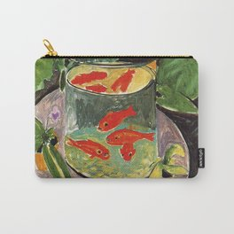 Henri Matisse Goldfish 1911, Goldfishes Artwork, Men, Women, Youth Carry-All Pouch