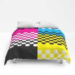 C13 CMY&K Comforters