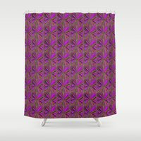 iris Shower Curtains featuring Iris by DesignsByMarly