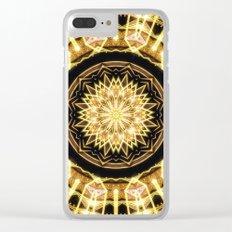 GlaMANDALA   Mandala Glamour Clear iPhone Case