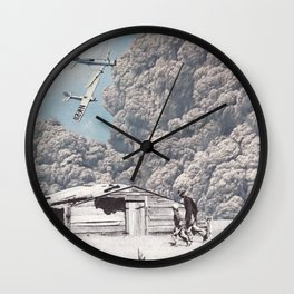 Bombing Wall Clock