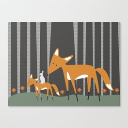 In The Woods Canvas Print