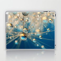 Dandy Drops in Royal Blue Laptop & iPad Skin