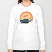 drive Long Sleeve T-shirts featuring Drive by Villaraco