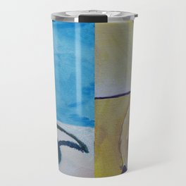 Pear Studies Combined #Christmas #Fine Art #Painting Travel Mug