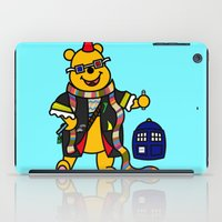 pooh iPad Cases featuring Doctor Pooh by Murphis the Scurpix