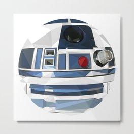 R2 Dot Metal Print