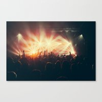 it crowd Canvas Prints featuring Crowd by Jesse DeFlorio