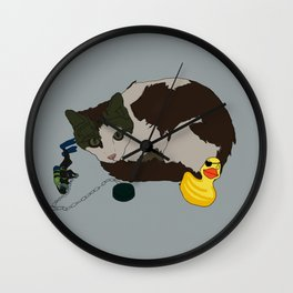 Lenny and Duckie! Wall Clock