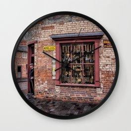 Victorian Store England Wall Clock