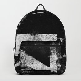 Black Grunge England flag Backpack