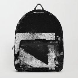 Black Grunge England flag Backpack