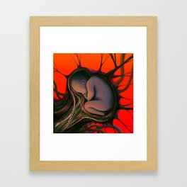 Cover Art, Bad Blood Framed Art Print