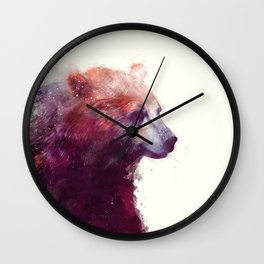 Bear // Calm Wall Clock
