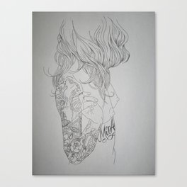 Mi Amor Canvas Print